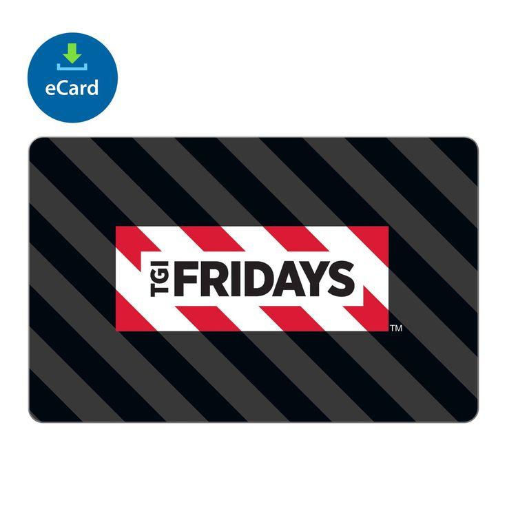 TGI Fridays eGift Card -Various Amounts (Email Delivery) - Sam's Club