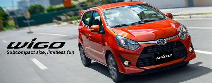 Toyota Wigo Philippines In 2020 Toyota Toyota Motor Philippines Subcompact