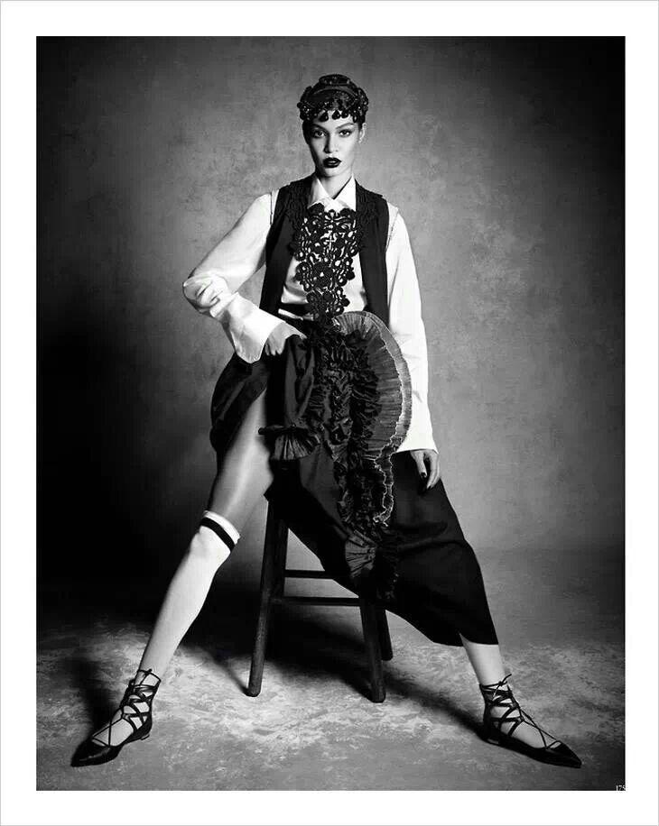 Joan Smalls for Vogue Germany by Luigi & Daniele + Iango