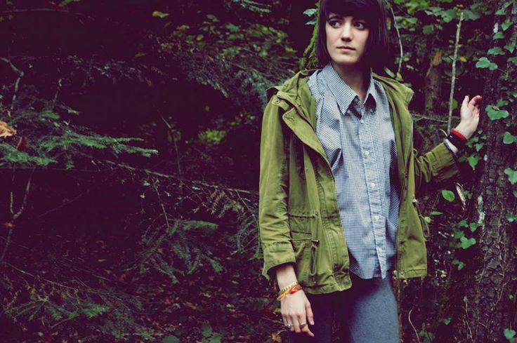 portrait + intothewild + forêt + verdure