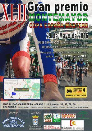 La Copa de España Másters reunirá en Montemayor a equipos ciclistas de toda España - Montilla Abierta