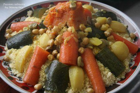 Couscous à la Marocaine par étapes et quelques astuces - Passion culinaire by Minouchka
