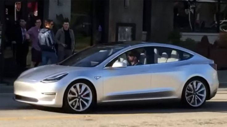 Tesla Model 3 spotted in the wild
