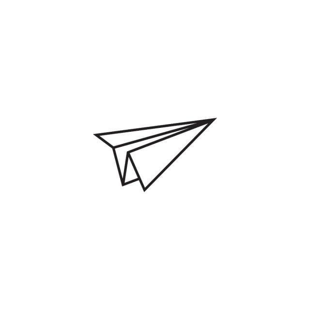 طائرة ورقية قالب الرسم صور المتجهات مع المواد Png Kertas Png Ilustrasi Tatto
