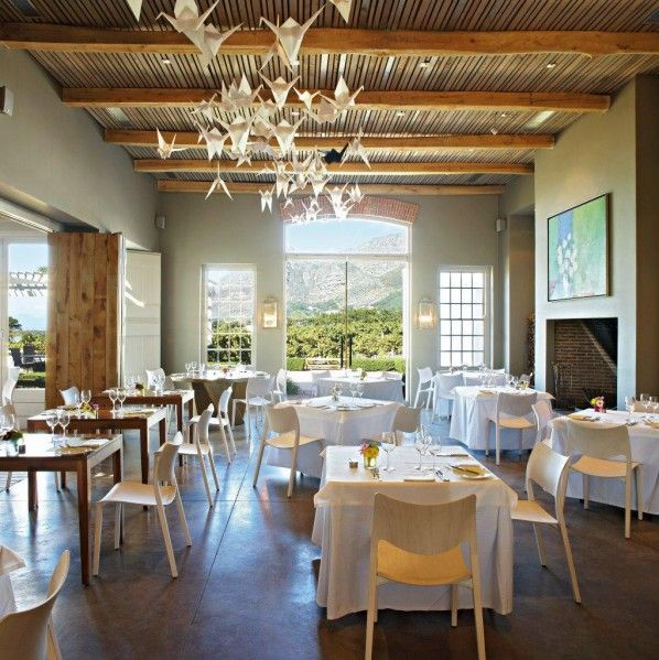 """Catharina's With an eye on creating a """"Contemporary Heritage"""", Catharina's embraces the past but keeps evolving with the current to maintain a fresh and innovative attitude.The menu centres on simplicity, and lets the finest quality ingredients do all the talking.  http://www.steenbergfarm.com"""