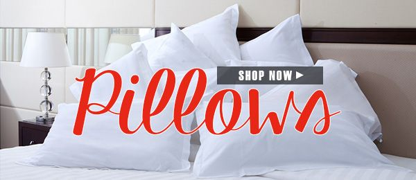Find the perfect pillow for a good night sleep!