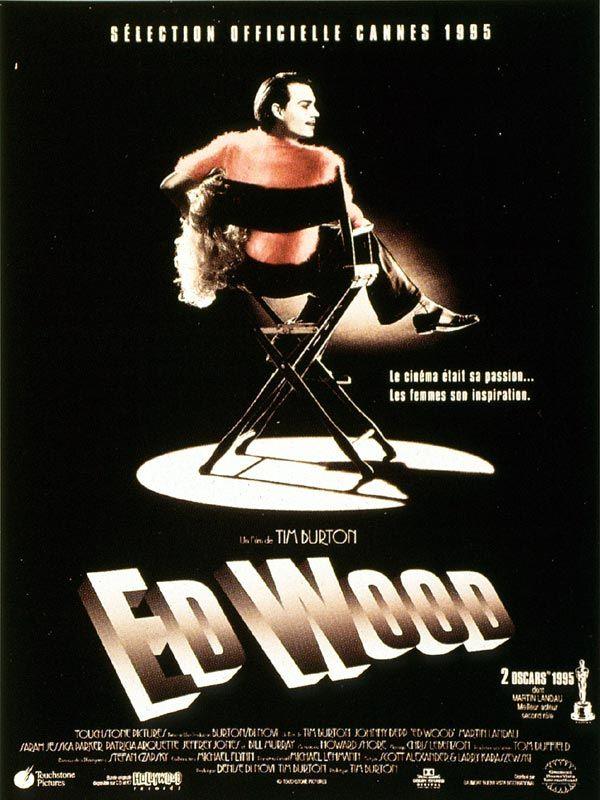 Ed Wood est un film de Tim Burton avec Johnny Depp, Martin Landau. Synopsis : Evocation de la vie d'Ed Wood, réalisateur considéré de son vivant comme le plus mauvais de tous les temps, aujourd'hui adulé et venéré par des millie