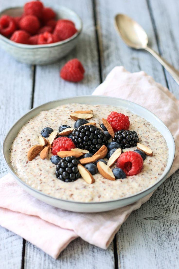 Low Carb Protein Porridge – Getreidefreies Frühstück zur Gewichtsreduktion   – Veganes Müsli