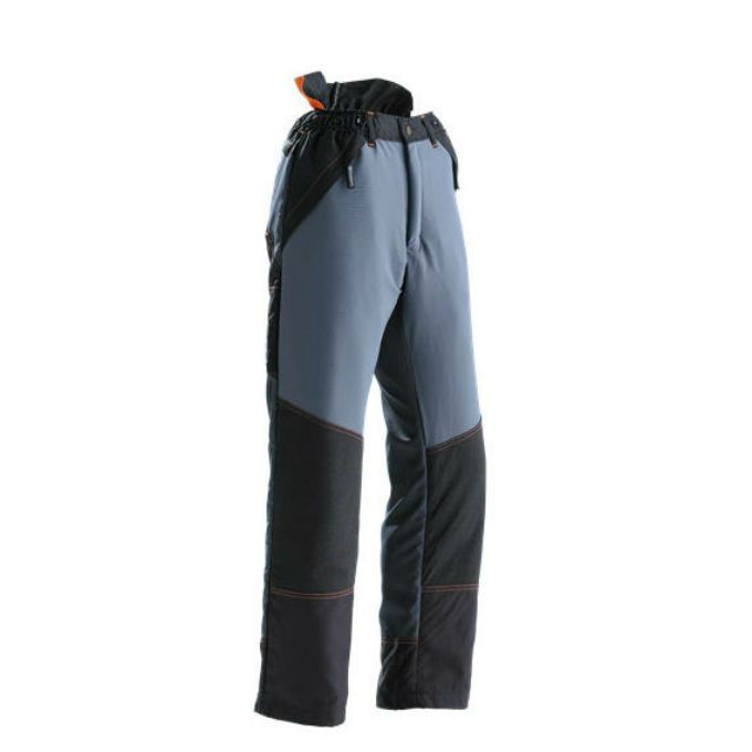 Another variation on the outdoor trousers. This one showing how they vary in design and appearance. They also offer utility as well as protection which for an adventurer is a good thing.