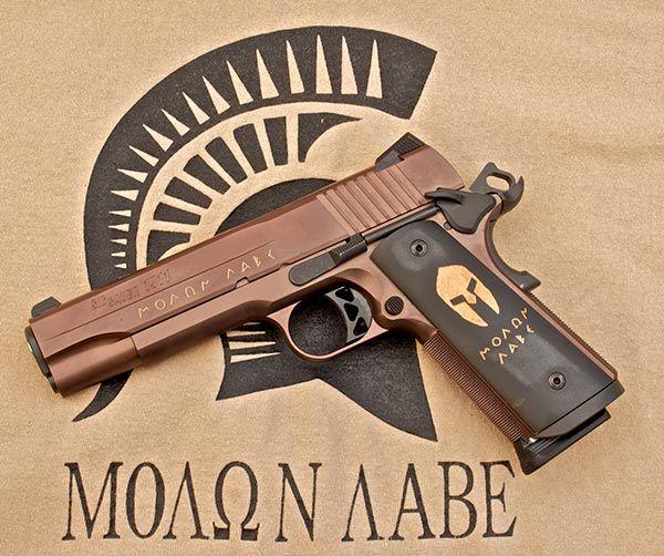 Molon Labe: SIG Sauer M1911 Spartan Review - Shotgun News