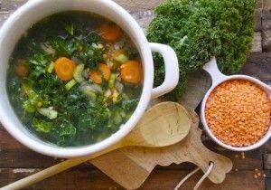 Pożywna zupa z jarmużu zamiast antybiotyków