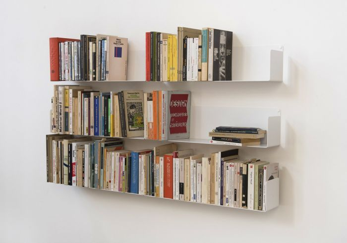 Mensole Per Libri.Mensole Per Libri U Set Di 6 60 Cm Acciao Libreria