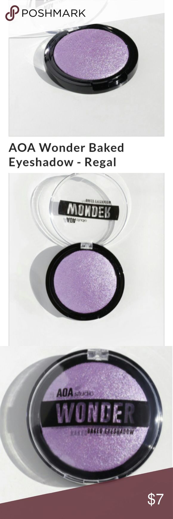 🆕AOA WONDER BAKED EYESHADOW IN REGAL NEW SEALED 🆕AOA WONDER BAKED EYESHADOW IN REGAL. (PURPLE) 💎NEW SEALED NEVER USED 💎HIGH PIGMENT FOR LESS COST 💎CAN BE USED WET OR DRY AOA Makeup Eyeshadow