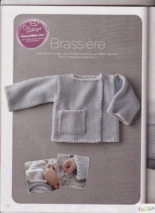 Tricot facile Phildar n°29 - Les tricots de Loulou - Picasa Albums Web