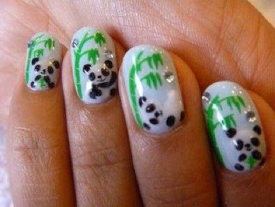 toffe panda nagels!