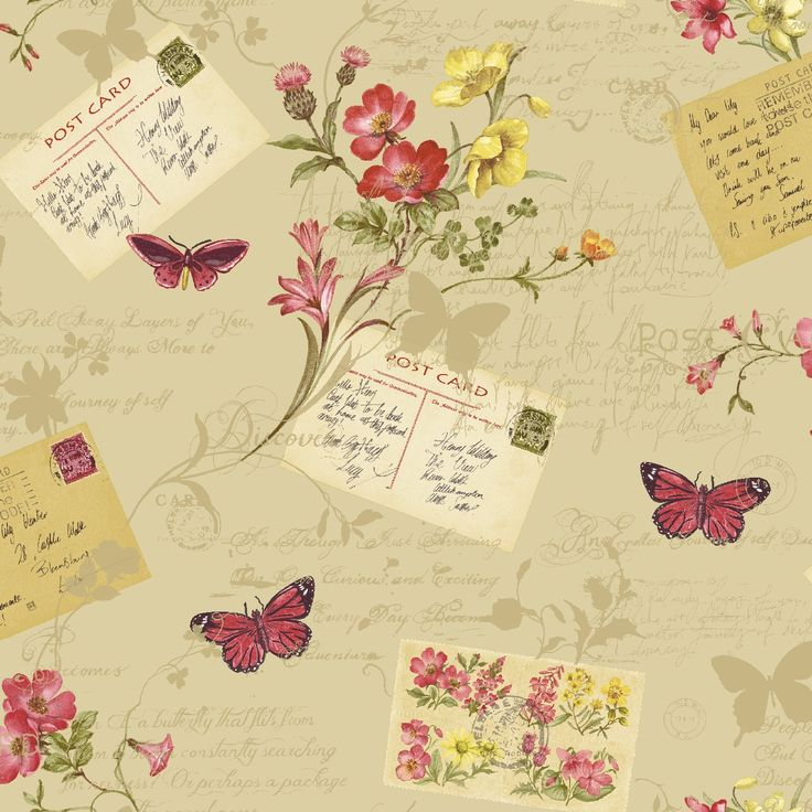 Sophie Conran for Arthouse - Reflections, Postcards Home 950901 by Arthouse
