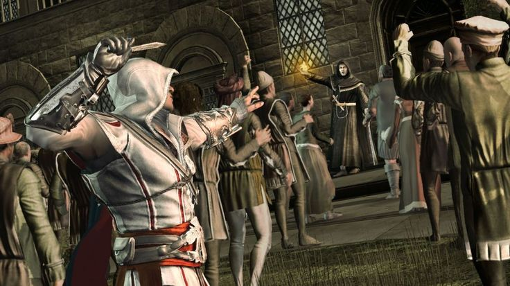 """Wanting something does not give you the right to have it."" Ezio Auditore, Assassin's Creed 2"