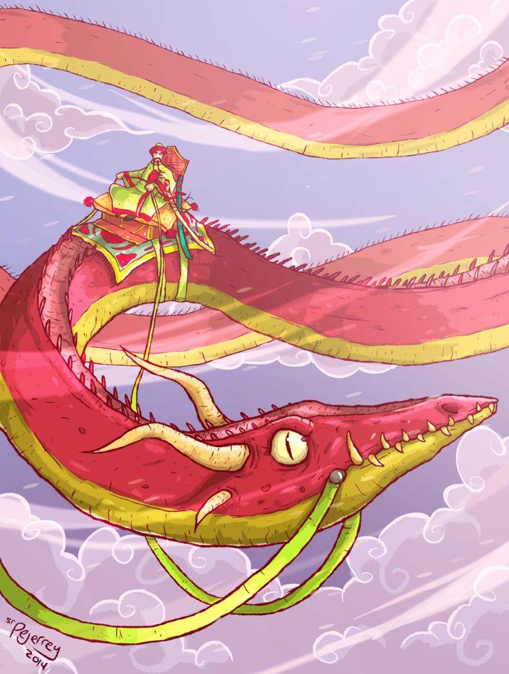 Dragon oriental