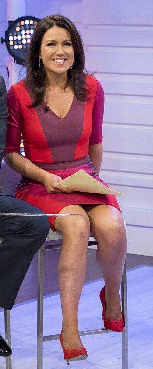 Upskirt morning tv