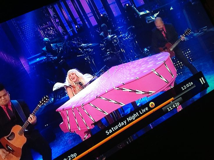 Lady Gaga SNL host guest  performance