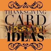THANKSGIVING CARD MESSAGE IDEAS - An Enchanted Florist Blog