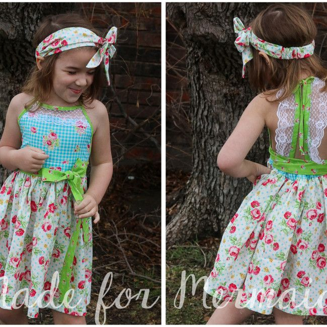Made for Mermaids Lily Lace romper, top, dress and maxiSizes 1/2 to 14 $9