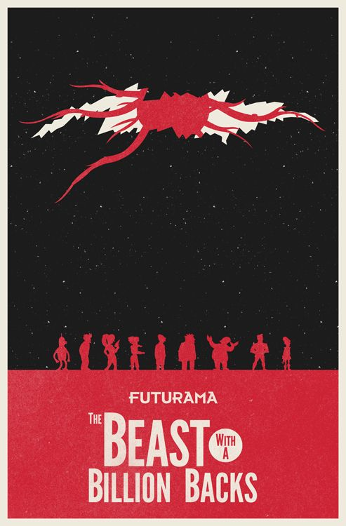 Futurama: The Beast with a Billion Backs by William Henry