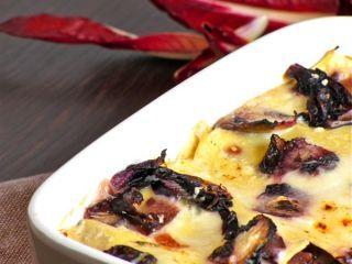 Lasagne con radicchio e Taleggio