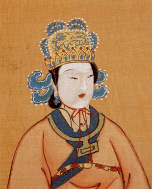 Empress Wu Zetian. In the seventh century, Wu Zetian (through a combination of brains, beauty, unsparing ambition and tenacious hard work) became China's first and only empress.