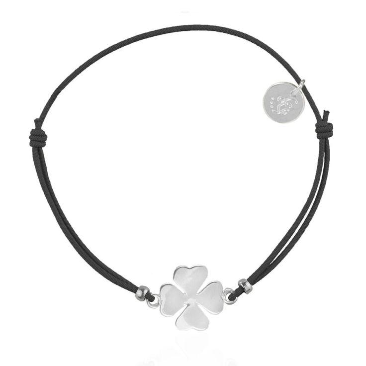 Les Cleias clover bracelet - available via www.my-jewellery.com | #clover #luck #bracelet #lescleias #myjewellery