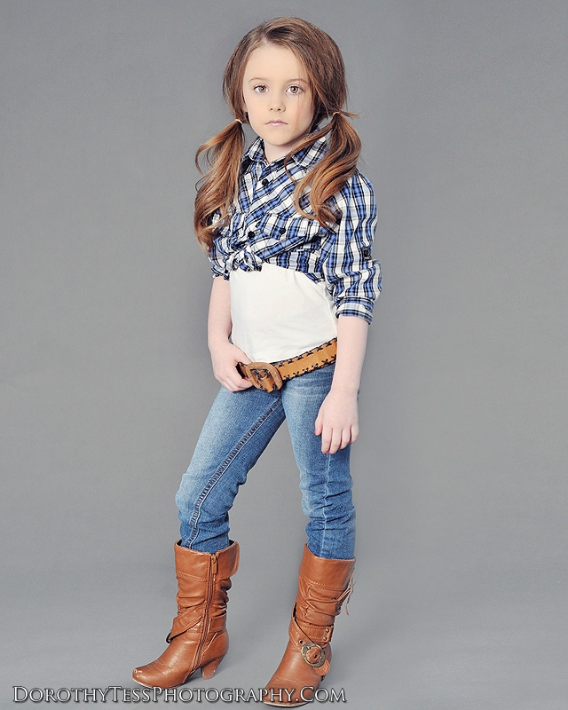 Brooklynn Ray Adorable little girl, Cowgirl Up, fashionista by Dorothy Tess Photography