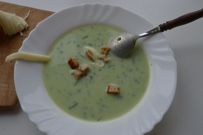 Bear Garlic Soup No.1