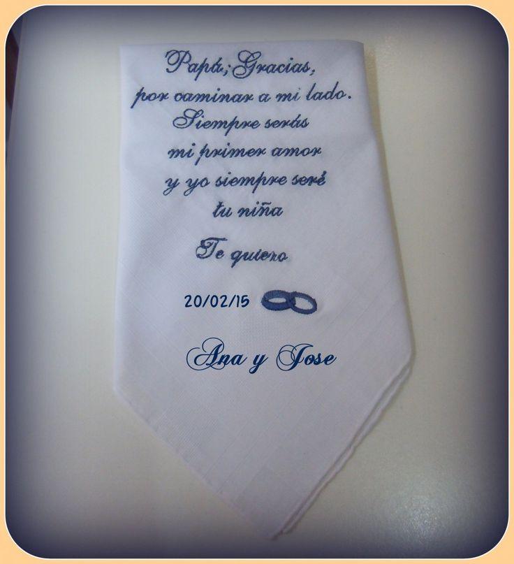 pañuelo para padrinos |
