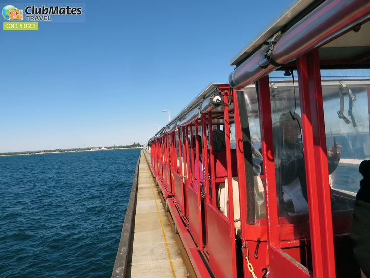 Clubmates Enjoying  a ride on the Jetty Train before heading back into Perth