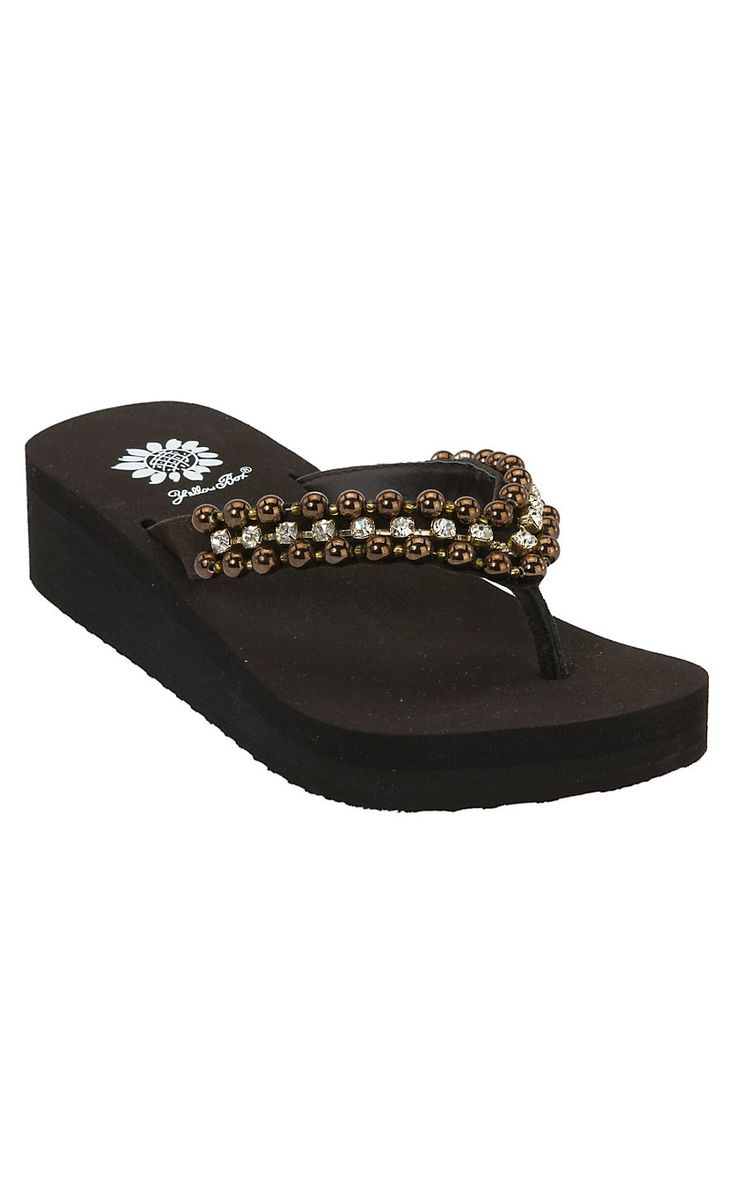 Shop for women's sandals at Cavender's and find the finest ladies' cowgirl flip  flops around.