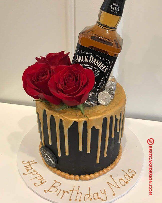 Pin By Micaela Rojas On Cake Decorating Bottle Cake Liquor Cake Cake Design