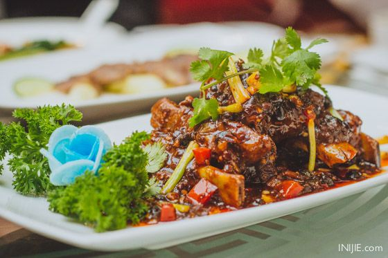 Braised Pork Ribs with Chili Bean Sauce