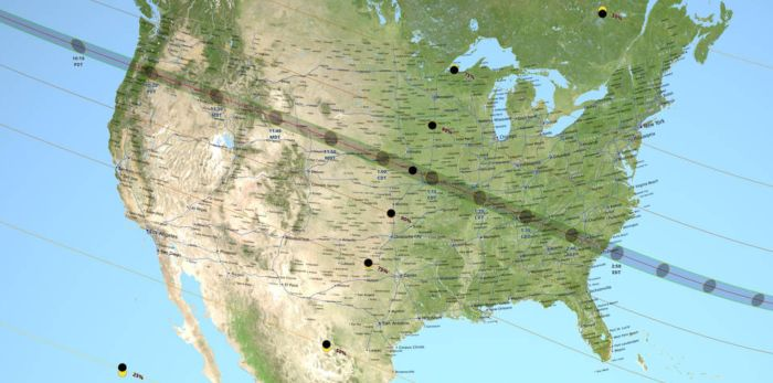 The total solar eclipse takes place August 21st and will be visible in a 70-mile-wide path that sweeps across the United States. This is extremely rare. The last time we experienced a total solar eclipse was 1979. But, the path of the totality hasn't swept across the entire country since 1918!