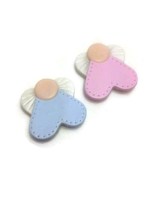 Angel Magnet Favors, Baptism Favors, Magnet Favors, Boy Baptism Favors, Girl Baptism Favors, In Organza Bags If You Wish, Pack of 25 or 50
