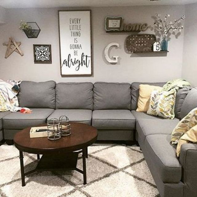 52 The Basics Of Living Room Wall Decor Ideas Above Couch Rustic Shelves 5 Living Room Decor On A Budget Farm House Living Room Farmhouse Decor Living Room