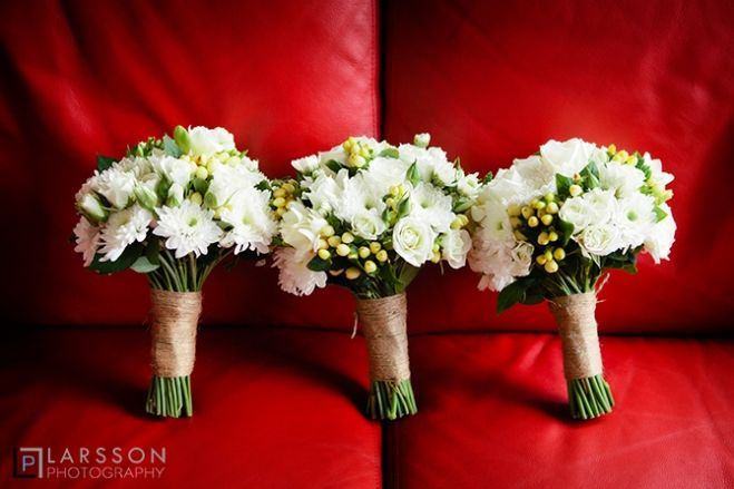 wedding flowers by The Flower room
