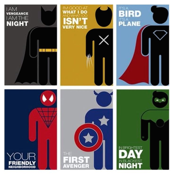 Even Super Heros have an identity. Actually, they are perfect example of branding. #OSNLikesIt #BrandIdentity