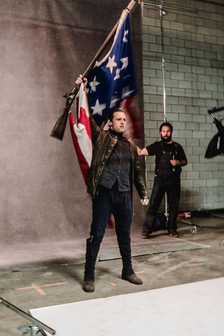 'Turn: Washington's Spies': Jamie Bell Raises Flag for Season 2 (Exclusive Photos) - The Hollywood Reporter