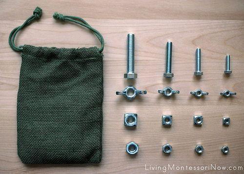 Montessori Monday - Building and Blocks Activities + Free Printable from Montessori By Mom