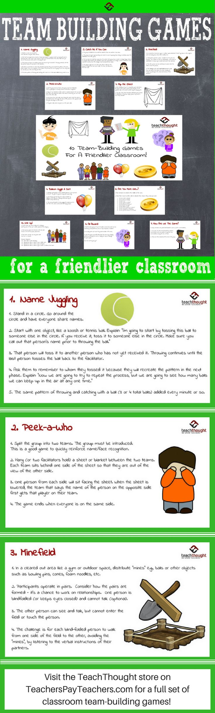 Help students become friends and create a collaborative environment in your classroom with these team-building game ideas.