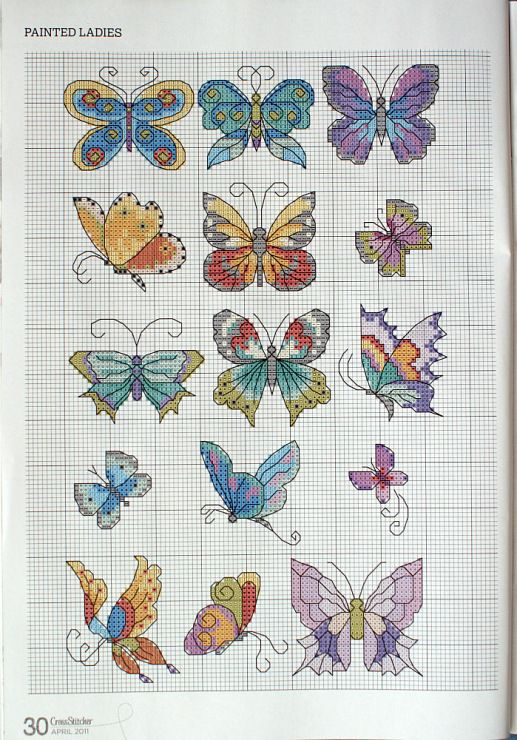 Gallery.ru / Photo # 22 - Cross Stitcher № 237 April 2011 - 19Edinorog87