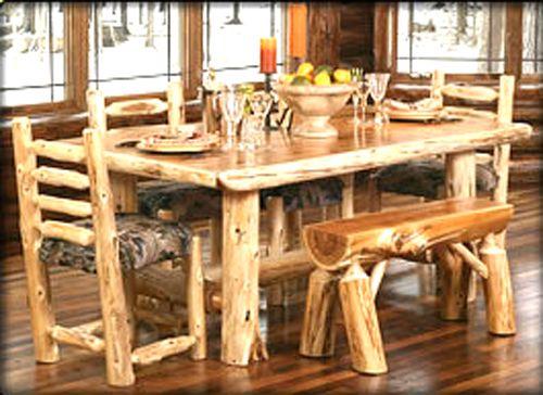 31 best log furniture images on Pinterest | Rustic furniture, Logs ...