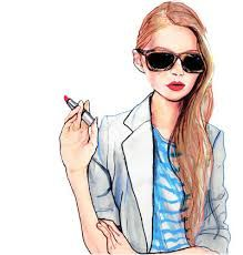 Image result for tumblr girl drawing fashion