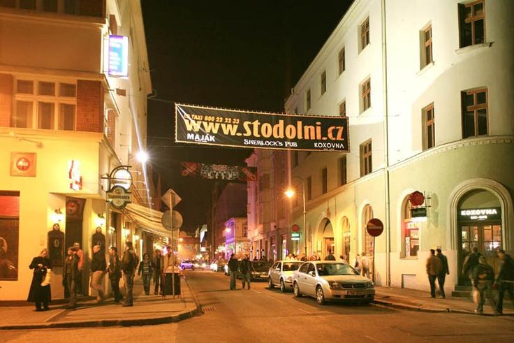 Stoldoní street - the best parties in Ostrava
