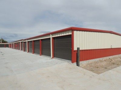 Mini Storage Outlet Supplied This Self Building In Cheyenne Wyoming We Offer Low Prices On Kits And Prefab Units